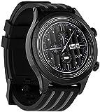 SHIJIAN Modische Smart-Armbanduhr für Damen und Herren, wasserdicht, Wetteranzeige, Herzfrequenz,...