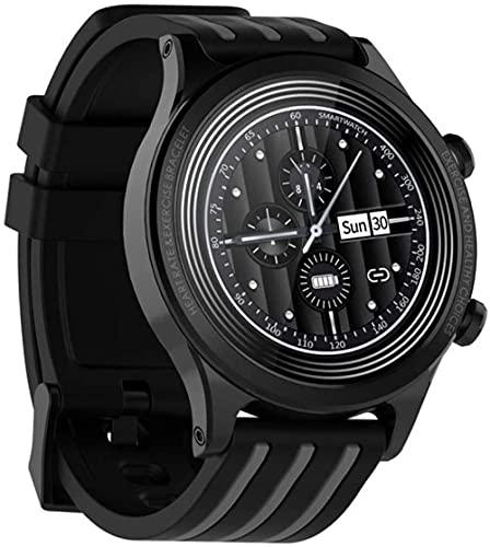 SHIJIAN Moda inteligente hombres y mujeres relojes impermeables, pantalla del tiempo ritmo cardíaco presión arterial sangre seguimiento salud reloj deportivo,-C