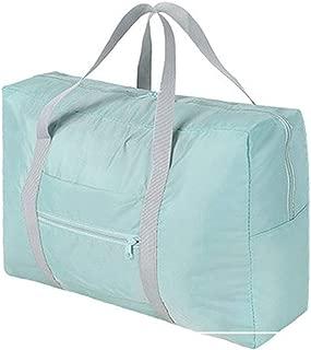 Travel Duffel Bag,Travel Storage Luggage Tote Bag,Foldable Lightweight Duffle Bag Waterproof Travel Bag for Men Women (light Blue)