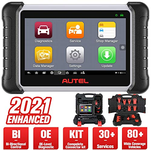 Autel MaxiPRO MP808K Automotive Diagnostic Scan Tool, 2021 Newest Upgraded of MP808, Same As MS906, Bi-Directional Control, All Systems Diagnostics, ABS Brake Bleed, SRS, Oil Reset, EPB, SAS, DPF, BMS