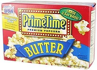 プライムタイム マイクロウェーブポップコーン バター味 3p