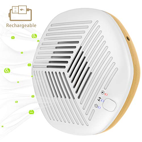 Sale!! FORTGESCHE Air Purifier Mini Ozone Generator Eliminator for Home, Portable Air Cleaner with 3...