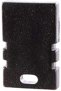 reprofil Accessoire pour LED Profil en H au Lot de 202–05Embout, noir 979172