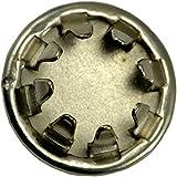 hard-to-find cierre 0149734729177/16Metal Agujero Plug, 20piezas