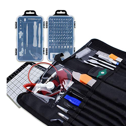 YLOVOW Precision Screw Set, 110 in 1 Professional Repair Tool Kit with Portable Case, Magnetic Screw Driver Set for PC, Computer, Cellphone, Tablet, iPhone, Etc