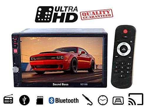 Sound Boss SB-9310B 7-inch HD Bluetooth MP5 Player with Camera (Black)