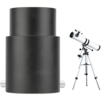 Neufday 1.25 to 2 Telescope Eyepiece Adapter Conversion Device
