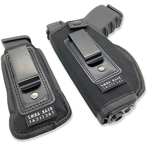 Universal IWB Holster for Concealed Carry | American Company | Inside The Waistband | Compatible with Sig Sauer | S&W M&P Shield | GLOCK 19 26 27 30 43 | Springfield XDS/Ruger LC9 | Taurus G3C/G2C
