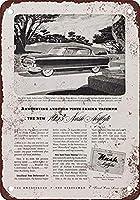 1953ナッシュエアフライテコーヒーハウスまたはホームメタルティンサイン