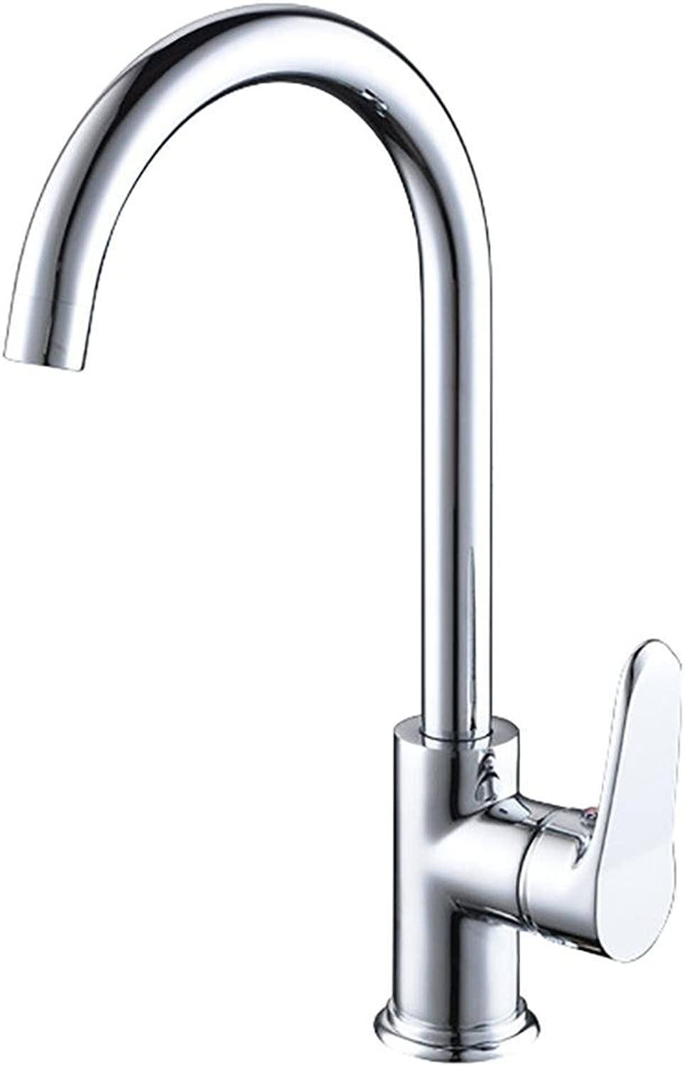 BKPH Sink Tap Modern Copper Monobloc Hot and Cold Mixer Single Handle Single Hole Bathroom Washroom Faucet