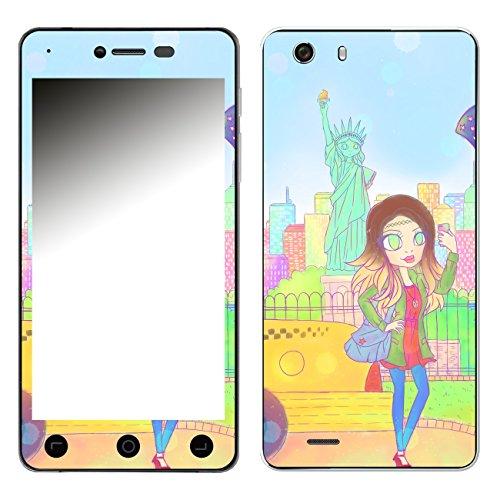 Disagu SF-106881_1173 Design Folie für Switel eSmart H1 - Motiv New York Girl