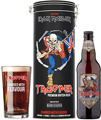 Trooper Iron Maiden Tin Giftset + Glass (1 x 0.5 l)