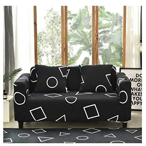 empty Hoezen voor hoekbanken, combinatie/A/L/1/2/3/4 bankovertrek, elastomeer sofa-overtrek, geheel pakket geometrie