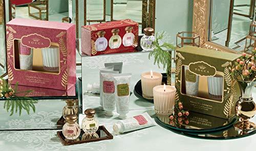 TOCCAホリデーセットパルマフローレンスの香り(ハンドクリームとキャンドルの贅沢ギフト)