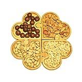Serving Platter, 4-Pieces Heart ...