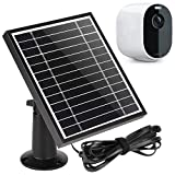 UYODM Solar Panel for Arlo Essential Spotlight   Weather Resistant, 16.5Ft Outdoor Power Charging Cable, Adjustable Mount   Not for Arlo HD Pro Pro2 Pro3 - Black