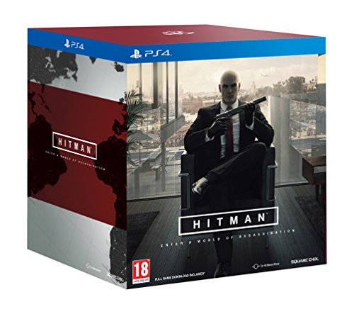 PS4 Hitman Collectors Edition Collectable Statue PREOWNED