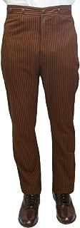 Men's High Waist Chadwick Cotton Dress Trousers