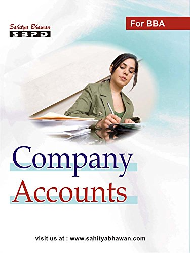 Company Accounts - By Dr. S. K. Singh & Dr. Amit Gupta for various unversities in india - SBPD Publications