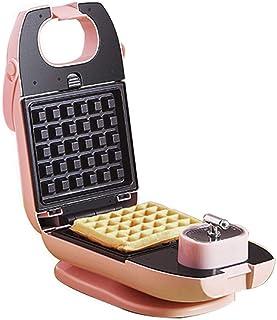Sandwich Brödrost Non-Stick Waffle Maker 650W Elektrisk Panini-press