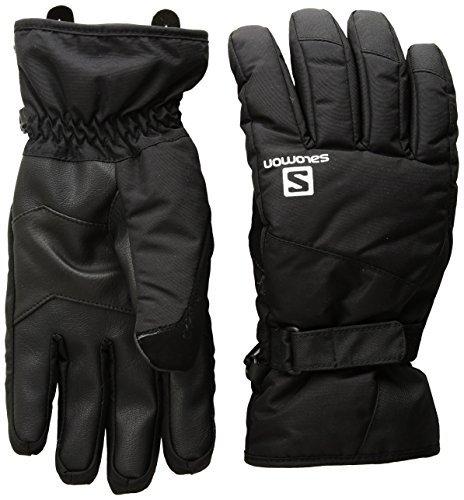 Salomon Herren Handschuhe, FORCE DRY, Atmungsaktiv, Schwarz, Gr. XXL, L39499500