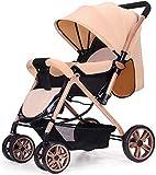 MAMINGBO Cochecito de bebé ligera compacta Silla de paseo Buggy,...