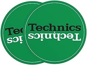 Technics DJ Slipmat - Pair - Green