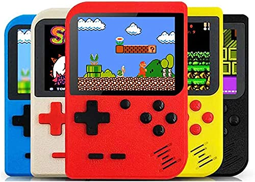AUSHA SUP 400 in 1 Retro Game Box Console Handheld Game PAD Gamebox with TV Output 8 GB with Mario, and Other 400 Games, DR Mario, Turtles, Super Mario, Contra (One Piece)