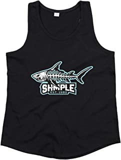 Druckerlebnis24 Tank Top - Camiseta de Tirantes Unisex para niños y niñas, diseño de pez Piranha