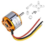 MEXUD- A2212 2200KV 6T Brushless Outrunner Motor for RC Aircraft Quadcopter Helicopter