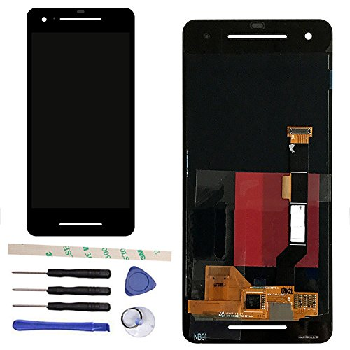 CENTAURUS Screen Replacement for Google Pixel 2 5.0 inch G011A LCD Display Touch Screen Digitizer Assembly Part Repair Black