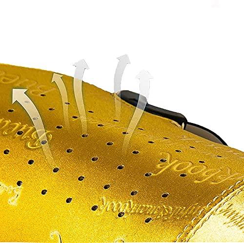 JWCN Radfahrenschuhe 36-47 mit Schloss atmungsaktive rotierende Schnalle schnelle für Mountainbike männer Frauen Schuhe hellfuß fühle-45 I_Gelb Uptodate