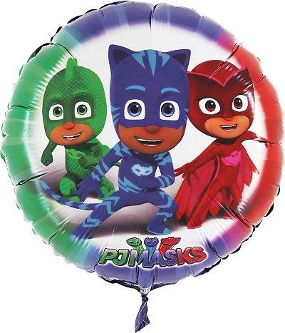 ILS I LOVE SHOPPING Pallone Foil 42cm Multicolore per Festa Compleanno (Superpigiamini Pj Mask, Pallone Foil Palloncino)
