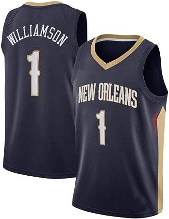 Dsti New Orleans Pelicans #1 Zion Williams Camiseta de ...