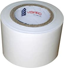 VISIARO PVC Self Adhesive White Monsoon Tape, Width 48mm x Length 20mtrs, Pack of 1