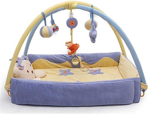 buena calidad LLVV Alfombras Alfombras Alfombras para bebé Baby Playmats Baby Gyms & Playmats Deluxe Infant Activity Gym Play Mat  marcas en línea venta barata
