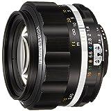 VoightLander フォクトレンダー 単焦点レンズ NOKTON 58mm F1.4 SLIIS Ai-S ニコンFマウント対応 ブラックリム 231634