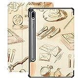 Funda para Galaxy Tab S7 Funda Delgada y Ligera con Soporte para Tableta Samsung Galaxy Tab S7 de 11 Pulgadas Sm-t870 Sm-t875 Sm-t878 2020 Release, Set Magic Elements Things Magician Wizard