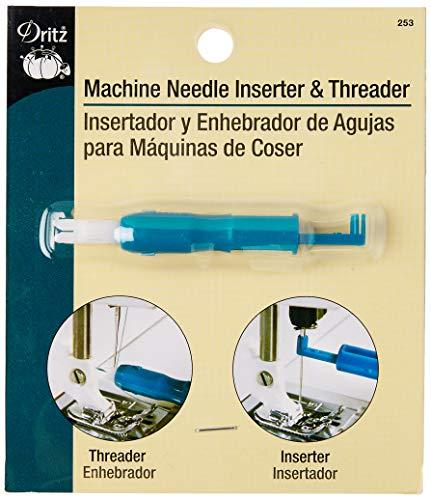 Dritz 253 Machine Needle Inserter & Threader for Sewing