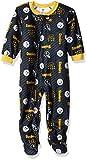 NFL Pittsburgh Steelers Unisex Blanket Sleeper, Black, 3T