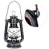 Storm Lantern Hurricane Lantern Lamp Lámpara de keroseno de estilo vintage Lámpara de aceite clásica retro Kerosene Citronella