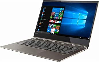 Lenovo Yoga 920 2-in-1 Ultrabook Laptop, 13.9in FHD IPS Touchscreen, Intel Quad-Core i7-8550U, 8GB DDR4 Ram, 256GB SSD, Fingerprint Reader, Windows 10, Bronze (Renewed)