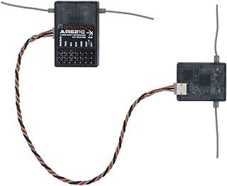 WILLOWLUCKY AR6210 DSMX 6-Channel Receiver for Spektrum Transmitter TX RC (DSMX,DSM2,DX6I,DX9,DX18)