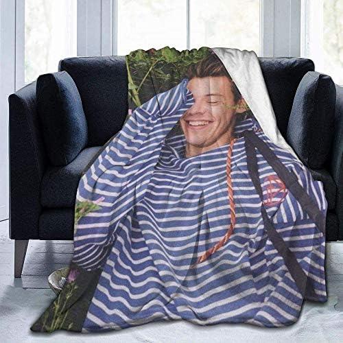 XZHYMJ Sherpa Deken Living Dekens Knuffel Dekens Harry Styles 19 Ultrazachte Fleece Deken Flanel Fluwelen Pluche Deken 50 x 40 inch