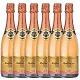 Cremant d'Alsace - Wolfberger Rosé - Brut (6x0,75l) - 75,90 Euro /1l=16,87€