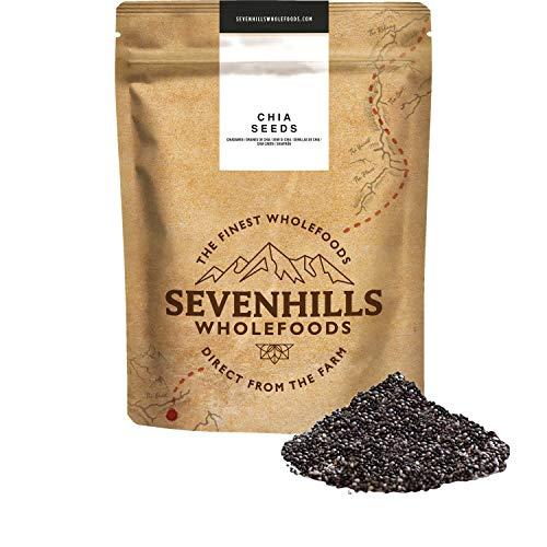 Sevenhills Wholefoods Graines De Chia Cru (1kg) (Beauté et hygiène)