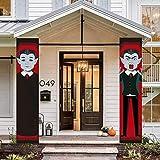 Halloween Decorazione Porta Halloween Banner da appendere Dolcetto o scherzetto per le decorazioni di Halloween della porta d'ingresso del portico all'aperto