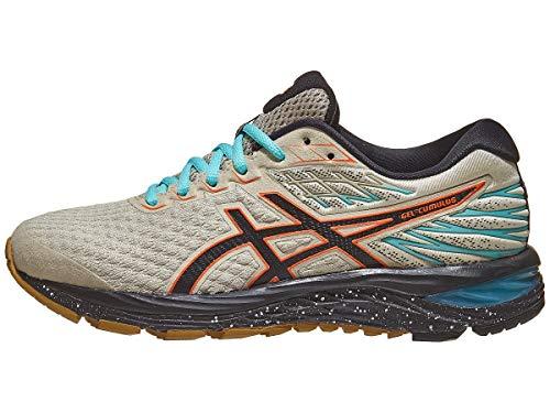ASICS Women's Gel-Cumulus 21 Winterized Running Shoes, 10M, Putty/Black