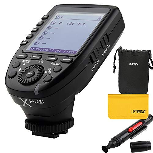 【技適マーク&日本語説明書付】GODOX Xpro-S 送信機 TTL2.4Gワイヤレスフラッシュトリガー 高速同期 1 / 8000s Xシステム Sony一眼レフカメラ対応
