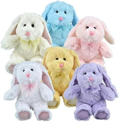 despacho de tienda verdebrier verdebrier verdebrier Multipack of 6 Floppy Earojo Plush Bunny Animals by verdebrier  distribución global